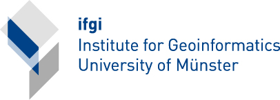 Logo of the Institute for Geoinformatics (Link to the Institute for Geoinformatics